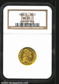 Early Quarter Eagles: , 1802/1 $2 1/2 MS61 NGC. Mintage: 3,035. ...