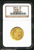 Early Half Eagles: , 1803/2 $5 MS61 NGC. Mintage: 33,506. ...