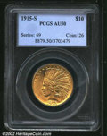Indian Eagles: , 1915-S $10 AU50 PCGS. Mintage: 59,000. The current Coin ...