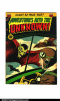 Golden Age (1938-1955):Horror, Adventures Into the Unknown #31 (ACG, 1952). Condition: FN-....