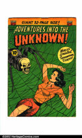 Golden Age (1938-1955):Horror, Adventures Into the Unknown #33 (ACG, 1952). Condition: VG/FN....