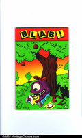 Modern Age (1980-Present):Alternative/Underground, Blab! Lot (Kitchen Sink, 1992/93). Lot of two issues of thissuperlative Underground. Includes: #1 (Reprint edition), and #7...