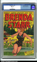 Golden Age (1938-1955):Crime, Brenda Starr Vol. 2, #5 Mile High pedigree (Four Star, 1948). CGC NM- 9.2 White pages. Edgar Church (Mile High) Collection. ...