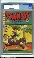 Golden Age (1938-1955):Funny Animal, Dandy Comics #7 (EC, 1948). CGC VG+ 4.5 Off-white pages. Overstreet 2001 GD 2.0 value = $19; FN 6.0 value = $56....