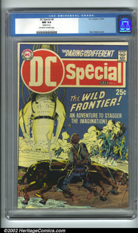 DC Special #6 (DC, 1970). CGC NM 9.4 Off-white to white pages. Slightly miscut. Neal Adams cover. Overstreet 2001 NM 9.4...
