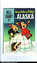 Silver Age (1956-1969):Humor, Dell Giant - Lulu & Tubby in Alaska #1 (Dell, 1959). Condition: FN/VF....