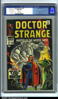 Doctor Strange #169 (Marvel, 1968). CGC NM+ 9.6 White pages. First Dr. Strange in his own title; origin retold. Overstre...