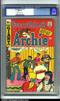 Silver Age (1956-1969):Humor, Everything's Archie #5 (Archie, 1969). CGC NM 9.4 Off-white to white pages. Overstreet 2001 NM 9.4 value = $40....