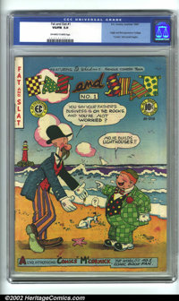 Fat and Slat #1 (EC, 1947). CGC VG/FN 5.0 Off-white to white pages. Overstreet 2001 FN 6.0 value = $98