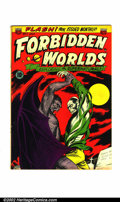 Golden Age (1938-1955):Horror, Forbidden Worlds #7 (All-American, 1952). Condition: VG/FN....