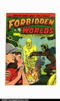 Golden Age (1938-1955):Horror, Forbidden Worlds #8 (All-American, 1952). Condition: FN....