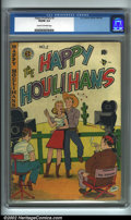 Golden Age (1938-1955):Humor, The Happy Houlihans #2 (EC, 1948). CGC VG/FN 5.0 Cream to off-white pages. Overstreet 2001 FN 6.0 value = $83....