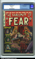Golden Age (1938-1955):Horror, The Haunt of Fear #15 Gaines File pedigree 2/12 (EC, 1952). Fromthe legendary Gaines Files, this is the #2 copy (of 12). CG...