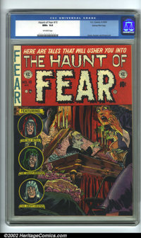 The Haunt of Fear #15 Gaines File pedigree 2/12 (EC, 1952). From the legendary Gaines Files, this is the #2 copy (of 12)...