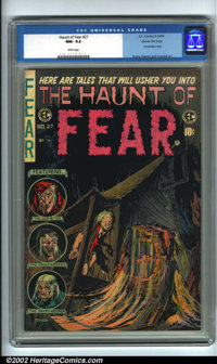 The Haunt of Fear #27 Gaines File pedigree 2/12 (EC, 1954). From the legendary Gaines Files, this is the #2 copy (of 12)...
