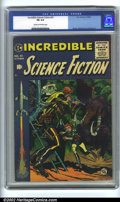 Golden Age (1938-1955):Science Fiction, Incredible Science Fiction #31 (EC, 1955). CGC FN 6.0 Cream tooff-white pages. Overstreet 2001 FN 6.0 value = $105....