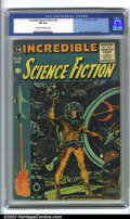 Golden Age (1938-1955):Science Fiction, Incredible Science Fiction #33 (EC, 1956). CGC FN 6.0 Cream tooff-white pages. Overstreet 2001 FN 6.0 value = $102....