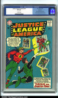Silver Age (1956-1969):Superhero, Justice League of America #22 Bethlehem pedigree (DC, 1963). CGC VF 8.0 Off-white pages. Bethlehem collection. Earth 2 Crisi...