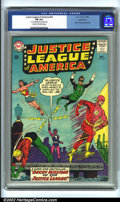 Silver Age (1956-1969):Superhero, Justice League of America #24 Bethlehem pedigree (DC, 1963). CGC FN 6.0 Cream to off-white pages. Cover detached from top st...