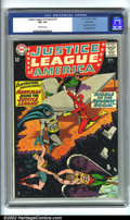 Silver Age (1956-1969):Superhero, Justice League of America #31 Bethlehem pedigree (DC, 1964). CGC VF+ 8.5 Off-white pages. Bethlehem collection. Overstreet ...