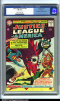 Silver Age (1956-1969):Superhero, Justice League of America #40 Bethlehem pedigree (DC, 1965). CGC VF+ 8.5 Cream to off-white pages. Third appearance of Silve...