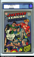 Silver Age (1956-1969):Superhero, Justice League of America #44 Bethlehem pedigree (DC, 1966). CGC VF 8.0 Light tan to off-white pages. Bethlehem collection. ...