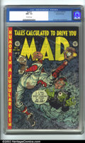 Golden Age (1938-1955):Humor, Mad #2 Gaines File pedigree 7/12 (EC, 1952). Gaines File copy, #7 (of 12). CGC NM+ 9.6 Off-white pages. Overstreet 2001 NM ...