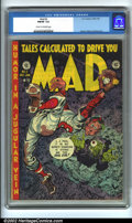 Golden Age (1938-1955):Humor, Mad #2 (EC, 1952). CGC FN/VF 7.0 Cream to off-white pages. Overstreet 2001 FN 6.0 value = $409; NM 9.4 value = $1500....