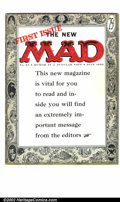 Golden Age (1938-1955):Humor, Mad #24 (EC, 1955). Condition: FN-. First magazine-size issue....