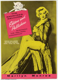 Golden Age (1938-1955):Non-Fiction, Marilyn Monroe 1955 ANPA Con Menu (No Publisher, 1955). Fold-outmenu from a dinner given at the 1955 ANPA Convention, this ...