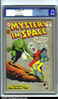 Silver Age (1956-1969):Science Fiction, Mystery in Space #66 Bethlehem pedigree (DC, 1961). CGC FN- 5.5 Light tan to off-white pages. Bethlehem collection. Overstre...