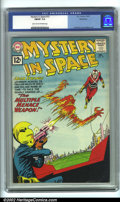 Silver Age (1956-1969):Science Fiction, Mystery in Space #72 Bethlehem pedigree (DC, 1961). CGC FN/VF 7.0 Light tan to off-white pages. Bethlehem collection. Overst...