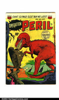 Golden Age (1938-1955):Horror, Operation Peril #6 (ACG, 1951). Condition: VG+....