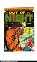 Golden Age (1938-1955):Horror, Out of the Night #3 (ACG, 1952). Condition: VG....