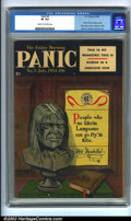 Golden Age (1938-1955):Humor, Panic #3 (EC, 1954). CGC VF 8.0 Cream to off-white pages. Overstreet 2001 FN 6.0 value = $30; NM 9.4 value = $110. ...