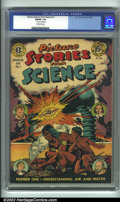 "Golden Age (1938-1955):Non-Fiction, Picture Stories from Science #1 (EC, 1947). CGC FN/VF 7.0 Off-whitepages. 1"" tear on 18th page. Overstreet 2001 FN 6.0 valu..."