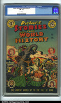Golden Age (1938-1955):Non-Fiction, Picture Stories from World History #1 (Eastern Color, 1947). CGCFN- 5.5 Off-white pages. Overstreet 2001 FN 6.0 value = $90...