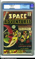 """Silver Age (1956-1969):Science Fiction, Space Adventures #35 (Charlton, 1960). CGC FN/VF 7.0 Off-white to white pages. CGC notes """"date stamp on cover."""" Overstreet 2..."""