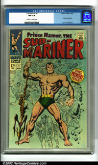 The Sub-Mariner #1 (Marvel, 1968). Continued from the pages of TALES TO ASTONISH, the Prince of Atlantis stars in his ow...