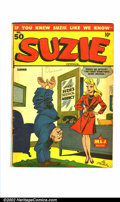 Golden Age (1938-1955):Humor, Suzie Comics #50 (MLJ, 1945). Condition: VG/FN. Scarce second issue of this title....