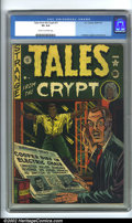 Golden Age (1938-1955):Horror, Tales From the Crypt #21 (EC, 1951). CGC VG 4.0 Cream to off-white pages. Overstreet 2001 GD 2.0 value = $86; FN 6.0 value =...