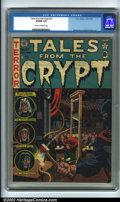 Golden Age (1938-1955):Horror, Tales From the Crypt #27 (EC, 1951). CGC VG/FN 5.0 Cream tooff-white pages. Overstreet 2001 GD 2.0 value = $40; FN 6.0 valu...