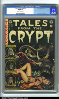 Golden Age (1938-1955):Science Fiction, Tales From the Crypt #32 (EC, 1952). CGC VG/FN Cream to off-white pages. Overstreet 2001 GD 2.0 value = $36; FN 6.0 value = ...