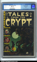 Golden Age (1938-1955):Horror, Tales From the Crypt #46 Gaines File Copy 6/11 (EC, 1955). GainesFile Copy, #6 (of 11). CGC NM- 9.2 Off-white to white page...