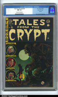 Tales From the Crypt #46 Gaines File Copy 6/11 (EC, 1955). Gaines File Copy, #6 (of 11). CGC NM- 9.2 Off-white to white...