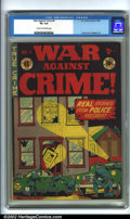 Golden Age (1938-1955):Crime, War Against Crime #4 (EC, 1948). CGC VG 4.0 Cream to off-white pages. Overstreet 2001 GD 2.0 value = $40; FN 6.0 value = $12...