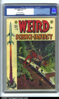 Golden Age (1938-1955):Science Fiction, Weird Science-Fantasy #23 (EC, 1954). CGC FN/VF 7.0 Cream to off-white pages. Overstreet 2001 FN 6.0 value = $87; NM 9.4 val...