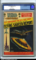 Golden Age (1938-1955):Science Fiction, Weird Science-Fantasy #26 (EC, 1954). CGC FN+ 6.5 Cream to off-white pages. Overstreet 2001 FN 6.0 value = $87....