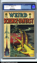 Golden Age (1938-1955):Science Fiction, Weird Science-Fantasy #28 (EC, 1955). CGC VF 8.0 Cream to off-whitepages. Overstreet 2001 FN 6.0 value = $93; NM 9.4 value ...