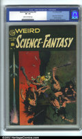 Golden Age (1938-1955):Science Fiction, Weird Science-Fantasy #29 Classic Frazetta Cover (EC, 1955). CGCVF- 7.5 Cream to off-white pages. Last pre-code issue. Fraz...